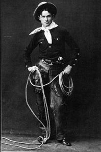 Wise cracking super roper Will Rogers.